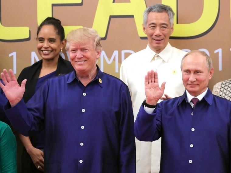 Трамп вновь спросил Путина овмешательстве вамериканские выборы