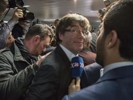 Пучдемон прибыл всуд Брюсселя напервые слушания оего выдаче Испании