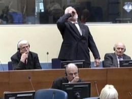 Стало известно, что содержалось впробирке, которую опустошил Слободан Праляк всуде