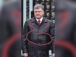Дождь иоблегающий плащ раскрыли страшную болезнь Петра Порошенко