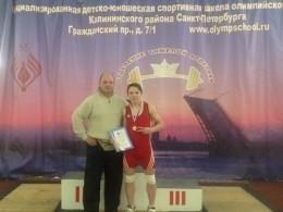 Псковский тяжелоатлет поставил новый рекорд натурнире вПетербурге