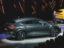 Lamborghini представила Urus— один изсамых быстрых внедорожников вмире