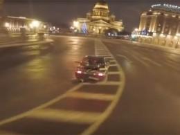 ВФедерации осудили поступкидерзкого водителя-дрифтера изПетербурга