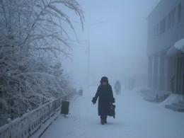 Температура воздуха вЯкутске неизменилась— минус 44 градуса поЦельсию
