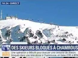 Около двухсотлыжников застряли вофранцузских Альпах
