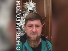 «Серебристый конь резвится напушистом льду»: Кадыров прочитал уелки новогоднее стихотворение
