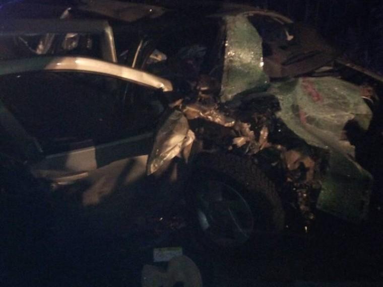 Дорога вХМАО,накоторой произошла страшная авария с10 погибшими, перекрыта