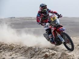 Сергей Карякин выиграл четвертый этап ралли-марафона «Дакар» взачете квадроциклов