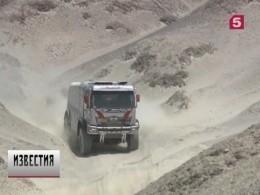 Экипаж Эдуарда Николаева стал лучшим вклассе грузовиков на«Дакар-2018»