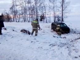 Микроавтобус Жадовского мужского монастыря попал ваварию под Ульяновском