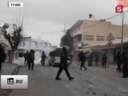Вдесяти городах Туниса прошли антиправительственные демонстрации