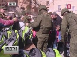 Всирийский город Маалула доставлен очередной гуманитарный груз изРоссии