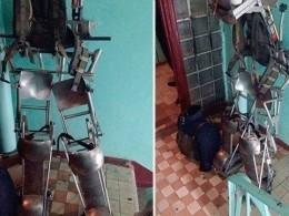 Объявившего войну коллекторам бывшего бойца СОБРа освободили отответственности