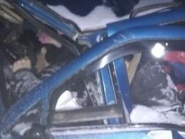 Первые кадры сместа массовой аварии вВологодской области, жертвами которой стали8 человек