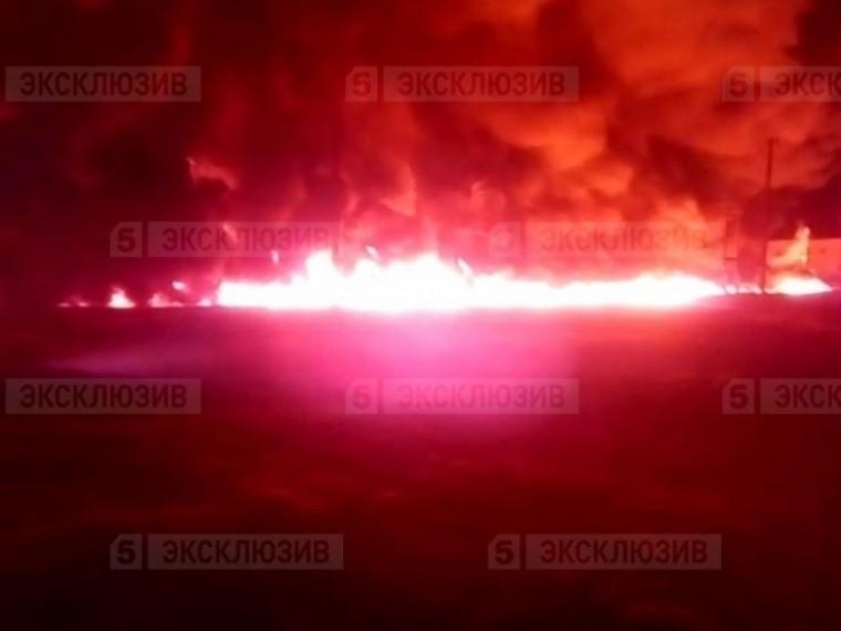 МЧС: нанефтепроводе вСаратовской области ликвидировано открытое горение