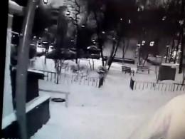 Предполагаемый изувер-убийцабизнесмена наОстанкинской улице вМоскве попал навидео