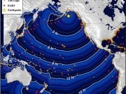 Западное побережье США готовится кцунами после землетрясения врайоне Аляски
