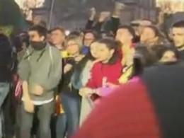 ВБарселоне начались столкновения сторонников Пучдемона сполицией