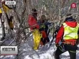 ВИталии двое лыжников погибли нагорнолыжном курорте из-за схода лавины