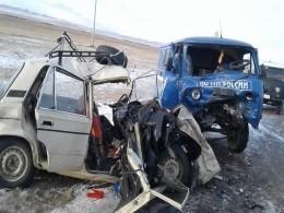 Пятый канал публикует фото смертельного ДТП вЗабайкалье