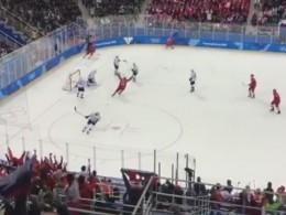 Российские хоккеисты обыграли словенцев сразгромным счетом наОИ-2018