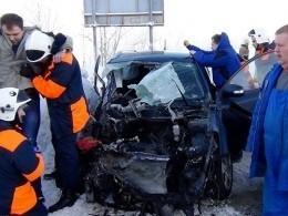 15 человек пострадали вДТП смаршруткой вМурманской области— первые кадры сместа