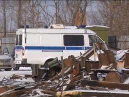 Видео сместа взрыва наметаллобазе вНижегородской области, где погибли двое