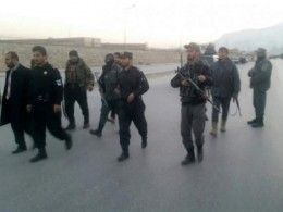 Первые кадры сместа взрыва вцентре Кабула