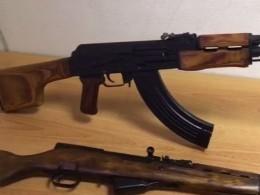 Видео: пулемет Калашникова идва карабина отправили почтой изМосквы вСибирь