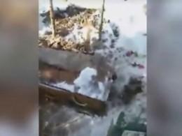 Пофакту осквернения могилы вКалужской области начата полицейская проверка