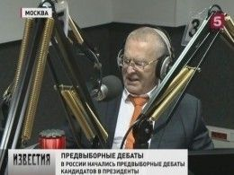 Вэфире «Радио России» стартовали первые дебаты кандидатов впрезиденты