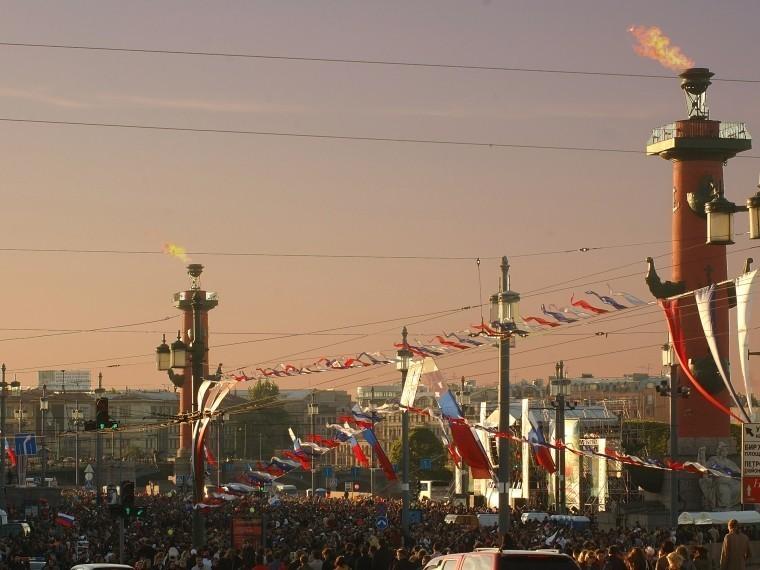 Стало известно, как Петербург отметит315-й день рождения