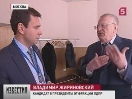 Жириновский рассказал, что насамом деле нужно для регистрации кандидатом впрезиденты