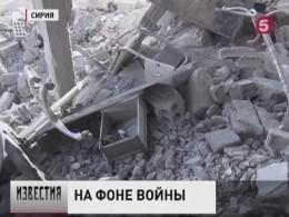 Боевики, засевшие вВосточной Гуте, обстреляли Дамаск