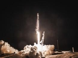 Смыса Канаверал воФлориде стартовала ракета-носитель Falcon9
