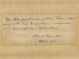 Интимное послание Эйнштейна итальянской студентке продано зашесть тысяч долларов