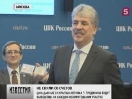 Павел Грудинин продолжит своё участие ввыборах президента