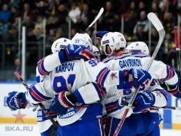 Хоккейный СКА одолел «Северсталь» ивышел вовторой раунд плей-офф Кубка Гагарина— лучшие моменты матча