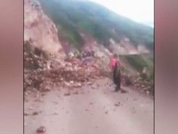 «Сеньора, карамба!»— девушка погибла под камнепадом вПеру, пытаясь сделать удачный снимок