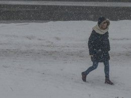Такая весна: из-за мороза исильного ветра вВоркуте опять отменили школьные занятия
