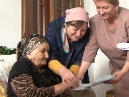 Старейшая жительница России приняла участие вВыборах-2018
