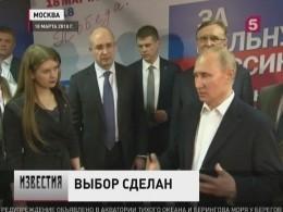 Владимир Путин тепло поблагодарил россиян заподдержку