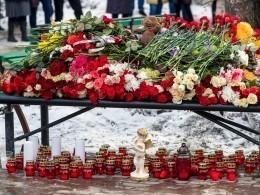 Страна скорбит пожертвам пожара вкемеровском ТЦ«Зимняя вишня»