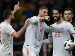 Сборная Испании разгромила аргентинцев сосчетом 6:1
