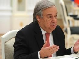 Генсек ООН выразил благодарность Саудовской Аравии иОАЭ загумпомощь Йемену