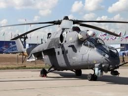 Контракт на10 вертолетов Ми-35 подписан между Россией иУзбекистаном