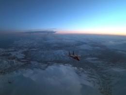 Ошеломительное видео ночной дозаправки российских истребителей ввоздухе попало винтернет