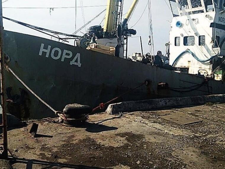 Украинский суд оштрафовал моряков с«Норда»
