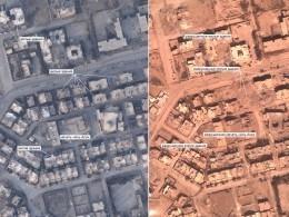 Минобороны России опубликовало фото разрушенной Ракки