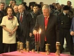 Благодатный огонь изИерусалима доставили вМоскву